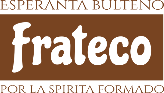 Frateco - Esperanta bulteno por la spirita formado