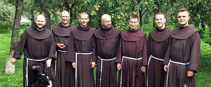 Odwiedziny Braci Nowicjuszy