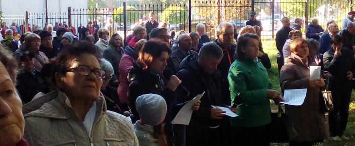 Pielgrzymka Franciszkańskiego Zakonu Świeckich do Leżajska
