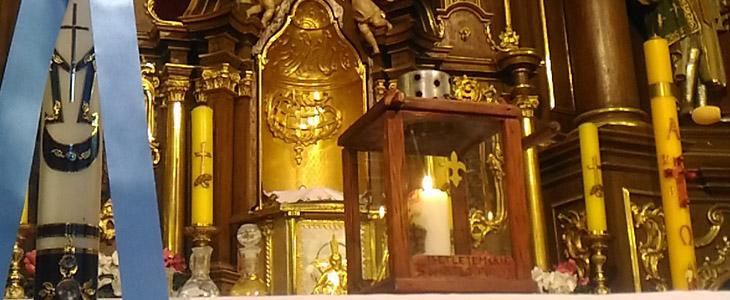 Betlejemskie Światło Pokoju w Przemyślu