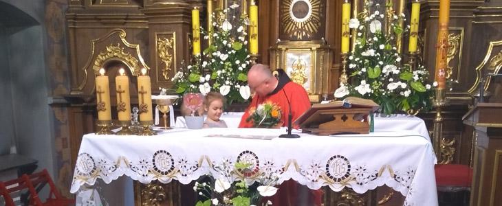 Msza Święta dla przedszkolaków na zakończenie roku szkolnego