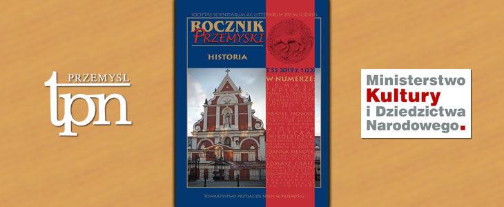 """Historia naszej parafii w """"Roczniku Przemyskim"""" 2019"""