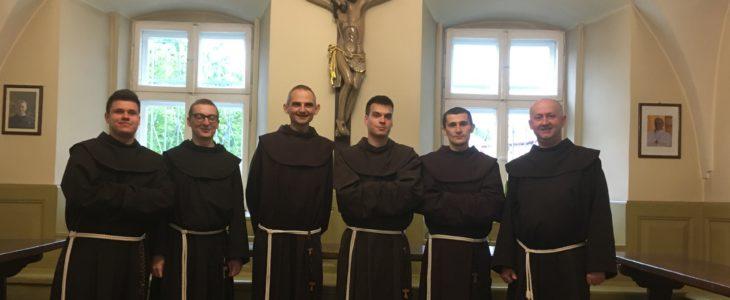 Wizyta Braci Nowicjuszy z Leżajska