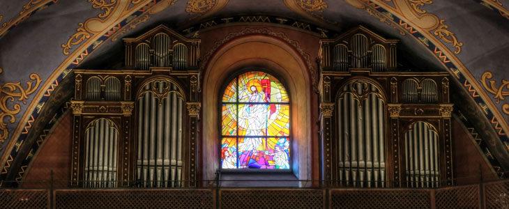 Konserwacja organów kościelnych
