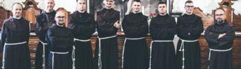 Pierwsza profesja zakonna w nowicjacie w Leżajsku