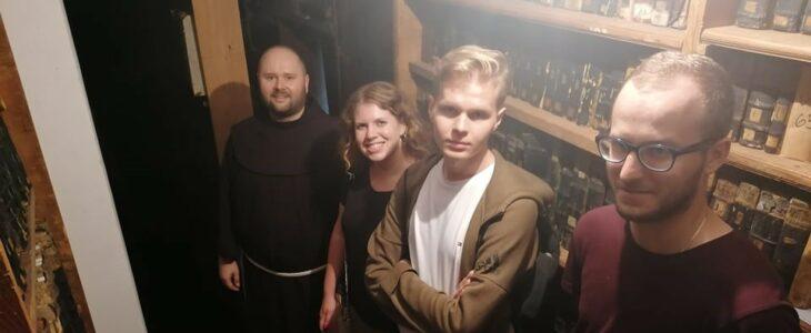Studenci historii UJ w naszym klasztorze