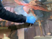 Renowacja obrazów o tematyce franciszkańskiej autorstwa br. Dydaka Baturyny z połowy XIX w.